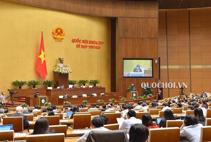 越南国会听取《酒类危害预防控制法(草案)》呈文和审查报告 - ảnh 1