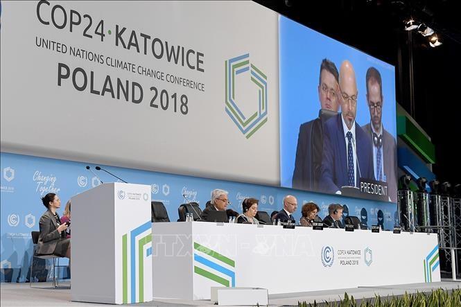 国际社会努力落实有关气候变化的《巴黎协定》 - ảnh 1