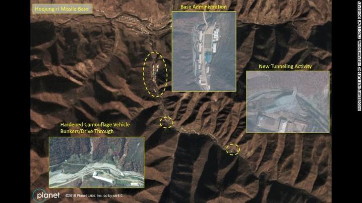 美国媒体报道朝鲜升级导弹基地 - ảnh 1
