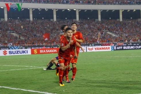 2018年铃木杯东南亚足球锦标赛:韩媒称赞越南队进入决赛 - ảnh 1