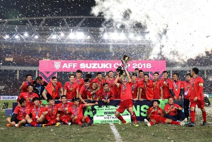 夺得2018年铃木杯东南亚足球锦标赛冠军越南队获重奖 - ảnh 1