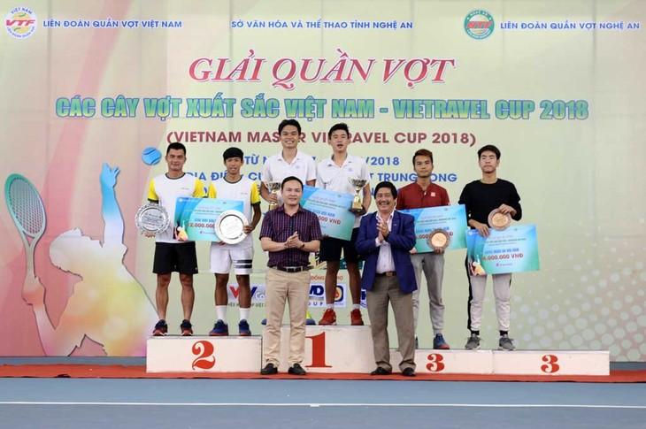 2018 Vietravel杯越南优秀网球选手比赛闭幕 - ảnh 1