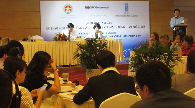 完善越南反腐工作评估 - ảnh 1
