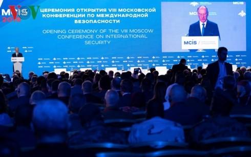 第8届莫斯科国际安全会议开幕 - ảnh 1