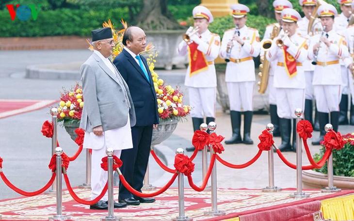 越南与尼泊尔发表联合声明 - ảnh 1