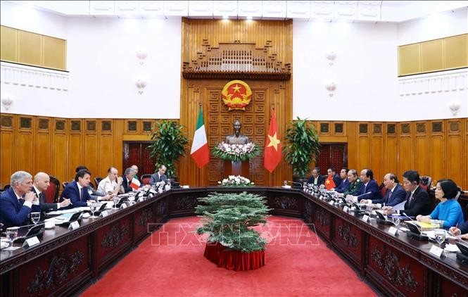 越南支持意大利加强与东盟各国的关系 - ảnh 1