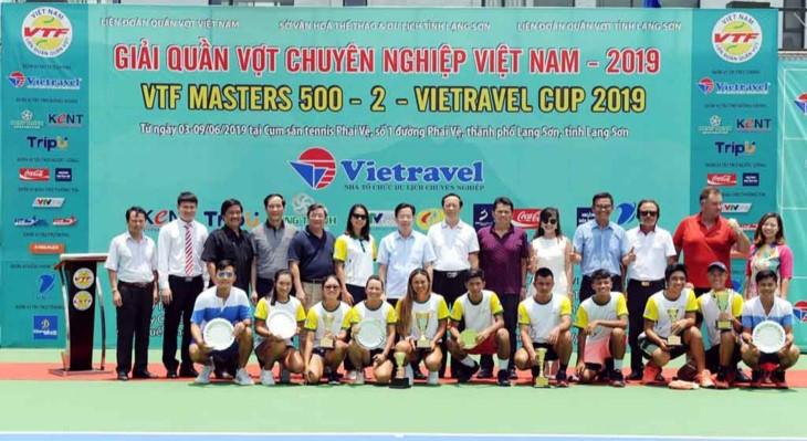 2019年越旅杯——越南网球大师赛闭幕 - ảnh 1
