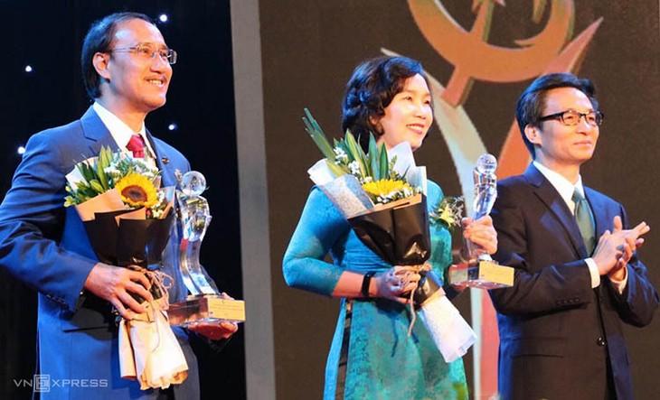 越南国家质量奖暨亚太国际质量奖颁奖仪式举行 - ảnh 1