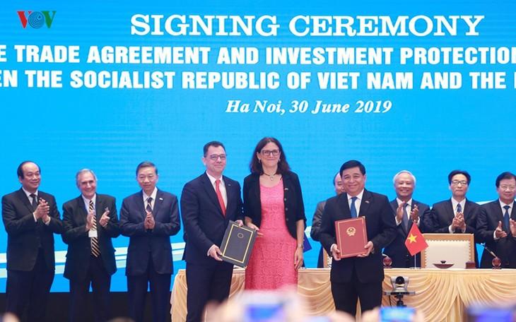 开启越南与欧盟合作的新阶段 - ảnh 2