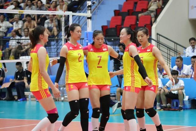中国荣获2019年亚洲U23女排锦标赛冠军 - ảnh 1