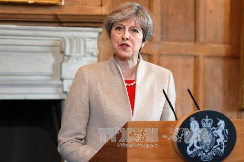 ការបោះឆ្នោតនៅអង់គ្លេស៖នាយករដ្ឋមន្រ្តីលោកស្រី Theresa May ផ្ដោតសំខាន់ លើបញ្ហារឹតបន្តឹងសន្តិសុខ - ảnh 1