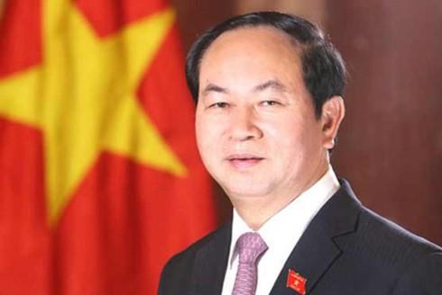 """ប្រធានរដ្ឋ លោក Tran Dai Quang៖ """"បដិវត្តន៍ខែតុលារុស្ស៊ីមហិមាជាមួយនឹងបដិវត្តន៍វៀតណាម"""" - ảnh 1"""