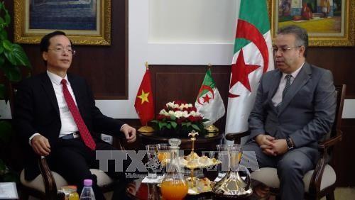 Vietnam dan Aljazair memperkuat kerjasama bilateral - ảnh 1