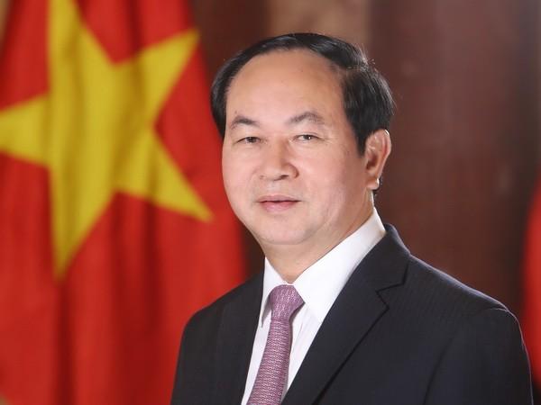 ប្រធានរដ្ឋវៀតណាម លោក Tran Dai Quang អបអរសាទររាល់គោលគំនិតអភិវឌ្ឍន៍របស់ឥណ្ឌា - ảnh 1