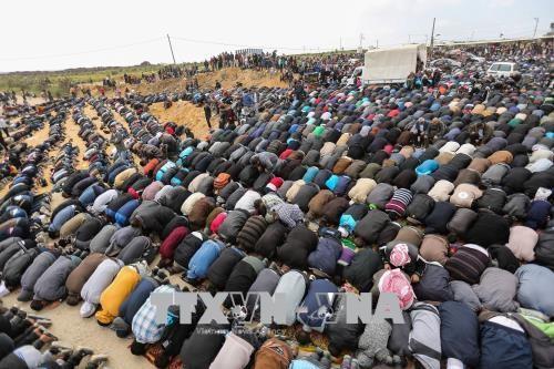 ក្រុមចលនាឥស្លាមប្រដាប់អាវុធ Hamas អំពាវនាវឱ្យមានបាតុកម្មនៅតំបន់ Gaza ខាងកើត - ảnh 1