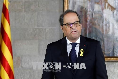 អភិបាលតំបន់ Catalonia បានបង្កើតរដ្ឋាភិបាលថ្មី - ảnh 1