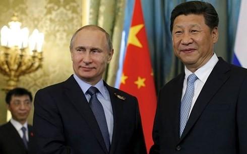ប្រធានាធិបតីរុស្ស៊ី លោក V.Putin វាយតម្លៃខ្ពស់ចំពោះទំនាក់ទំនងកិច្ចសហប្រតិបត្តិការរវាងរុស្ស៊ី និងចិន - ảnh 1