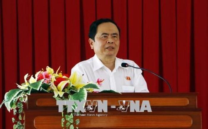 លោក Tran Thanh Man អបអរសាទរចំពោះស្ថាប័នសារព័ត៌មានក្នុងឱកាសទិវាសារព៌ត៌មានបដិវត្តន៍ - ảnh 1