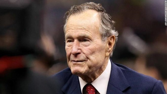 អាមរិករៀបចំបុណ្យសពជូនចំពោះអតីតប្រធានាធិបតីអាមរិកលោក George  Herbert Walker  Bush - ảnh 1
