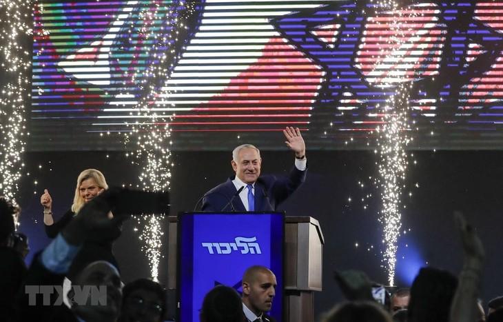 ប្រព័ន្ធផ្សព្វផ្សាយអ៊ីស្រាអែលបានផ្សាយថានាយករដ្ឋមន្រ្តី Benjamin Netanyahu ទទួលបានជ័យឈ្នះក្នុងការបោះឆ្នោតសកល - ảnh 1