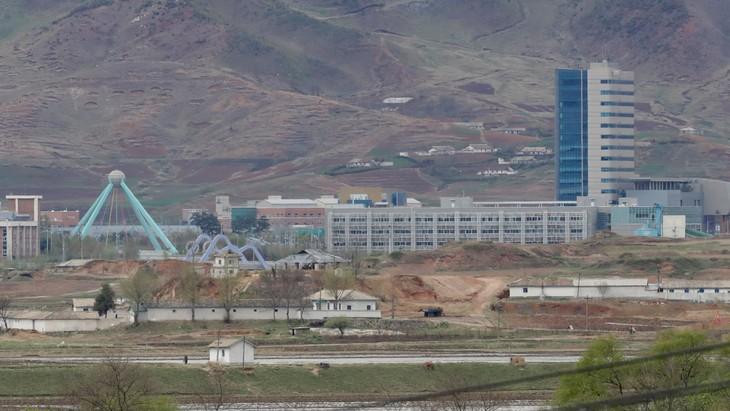 សហគ្រាសកូរ៉េខាងត្បូងបញ្ចុះបញ្ចូលសហរដ្ឋអាមេរិកគាំទ្រការបើកទ្វារតំបន់ឧស្សាហកម្ម Kaesong ឡើងវិញ - ảnh 1