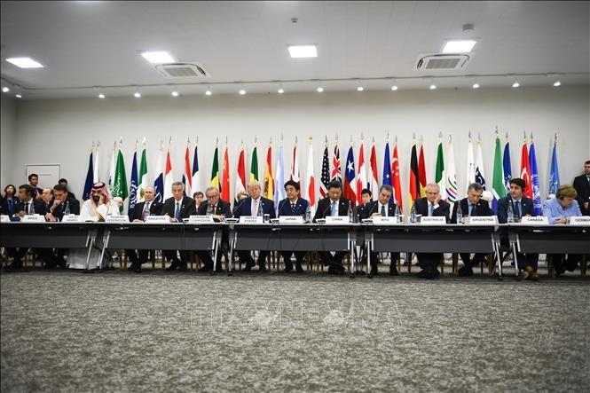 កិច្ចប្រជុំ G20៖ ថ្នាក់ដឹកនាំ EU ព្រមានថាសង្គ្រាមពាណិជ្ជកម្មធ្វើឱ្យ ខូចខាតយ៉ាងធ្ងន់ធ្ងរដល់កំណើនសកល - ảnh 1