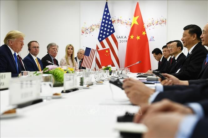 កិច្ចប្រជុំកំពូល G20 - ប្រធានាធិបតីអាមេរិក ត្រៀមខ្លួនជាស្រេចសម្រាប់កិច្ចព្រមព្រៀងពាណិជ្ជកម្មជាប្រវត្តិសាស្ត្រជាមួយចិន - ảnh 1