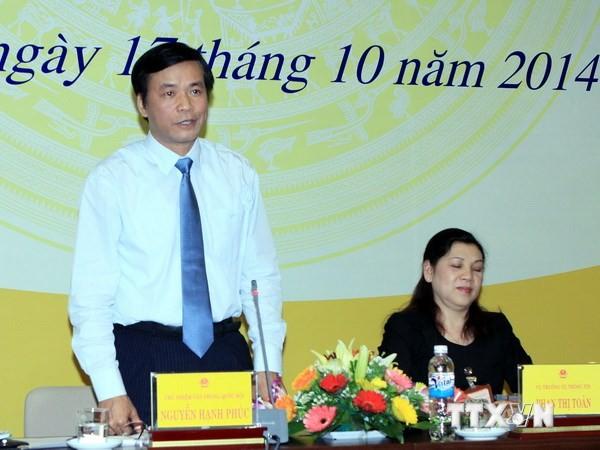Họp báo công bố Chương trình kỳ họp thứ 8, Quốc hội khóa 13 - ảnh 1