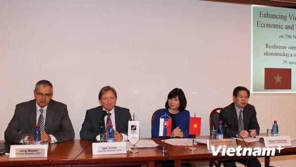Hội thảo Hỗ trợ Thương mại Việt Nam - Slovakia  - ảnh 1