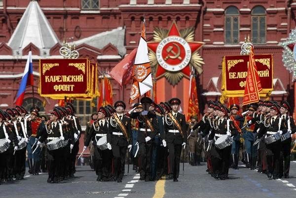 Lễ duyệt binh kỷ niệm 70 ngày chiến thắng phát xít tại Quảng trường Đỏ, Nga  - ảnh 1