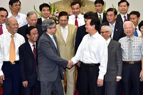 Thủ tướng Nguyễn Tấn Dũng: Khoa học công nghệ là yếu tố quan trọng để Việt Nam phát triển bền vững - ảnh 1