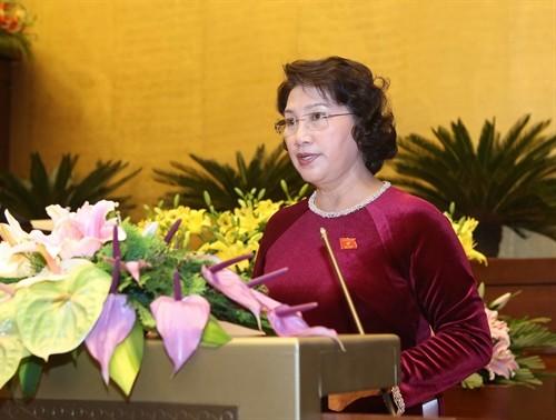 Quốc hội tiếp tục chương trình kỳ họp thứ 11 - ảnh 1