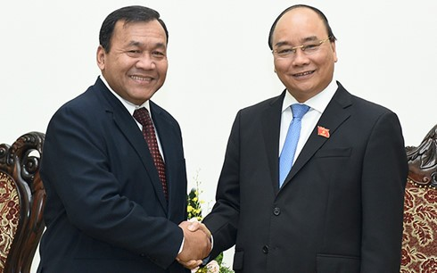 Đại sứ Campuchia tại Việt Nam Hul Phany kết thúc nhiệm kỳ công tác - ảnh 1