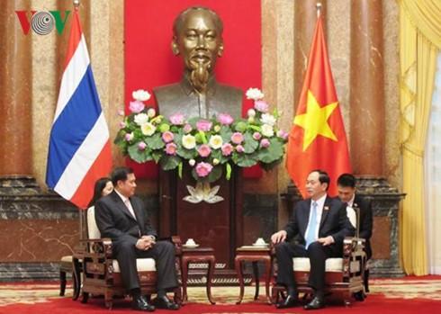 Việt Nam và Thái Lan tăng cường hợp tác trong nhiều lĩnh vực - ảnh 1