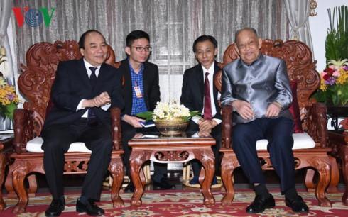 Lãnh đạo Việt Nam và Lào không ngừng vun đắp cho mối quan hệ đặc biệt hai nước - ảnh 1