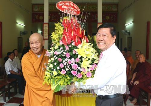 Hoạt động mừng đại lễ Phật đản Phật lịch 2561 - ảnh 1