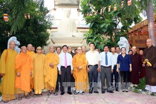 Hoạt động mừng đại lễ Phật đản Phật lịch 2561 - ảnh 2