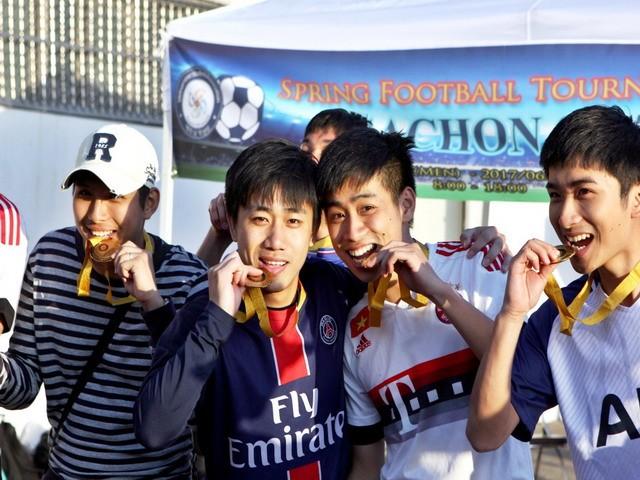 Giải bóng đá quốc tế mùa xuân Gachon 2017 - ảnh 11