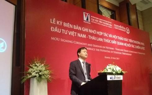 Việt Nam và Thái Lan đặt mục tiêu kim ngạch song phương 20 tỷ USD vào năm 2020 - ảnh 1