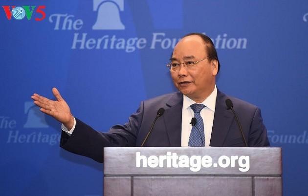 Thủ tướng Nguyễn Xuân Phúc thăm Viện Di sản tại Washington - ảnh 2