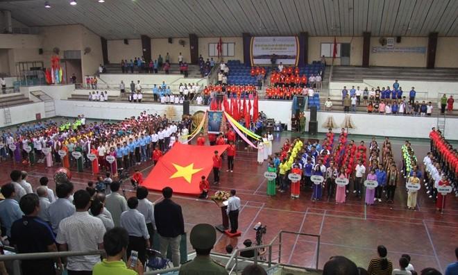 Khai mạc Hội thi thể thao các dân tộc thiểu số toàn quốc lần thứ X, khu vực II, năm 2017 - ảnh 1