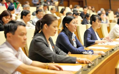 Quốc hội biểu quyết thông qua một số Nghị quyết, dự án Luật quan trọng - ảnh 1