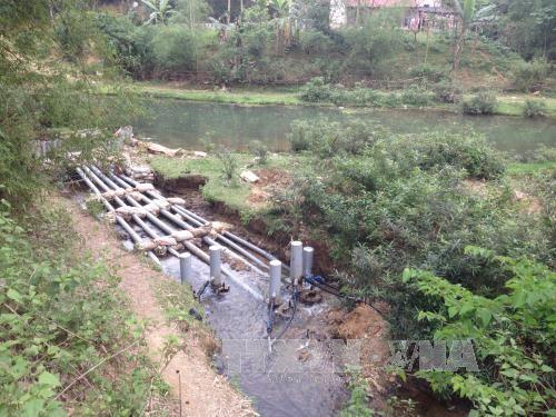 Thanh Hóa: Chế tạo thành công máy bơm nước thủy năng cho người dân - ảnh 1