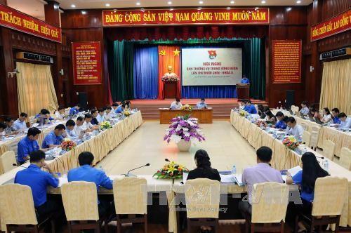 Khai mạc Hội nghị Ban Thường vụ Trung ương Đoàn lần thứ 19 (khóa X) - ảnh 1