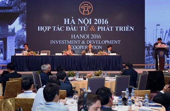 Hà Nội tổ chức hội nghị hợp tác đầu tư và phát triển năm 2017 vào ngày 25/06 - ảnh 1