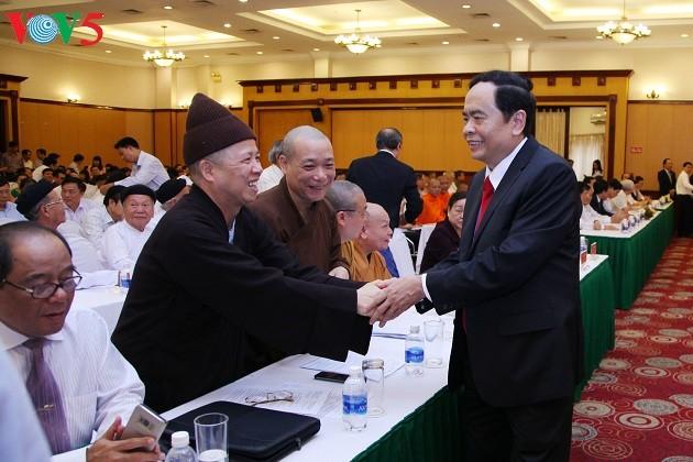 Ông Trần Thanh Mẫn được hiệp thương cử giữ chức vụ Chủ tịch Ủy ban Trung ương MTTQ Việt Nam khóa VII - ảnh 1