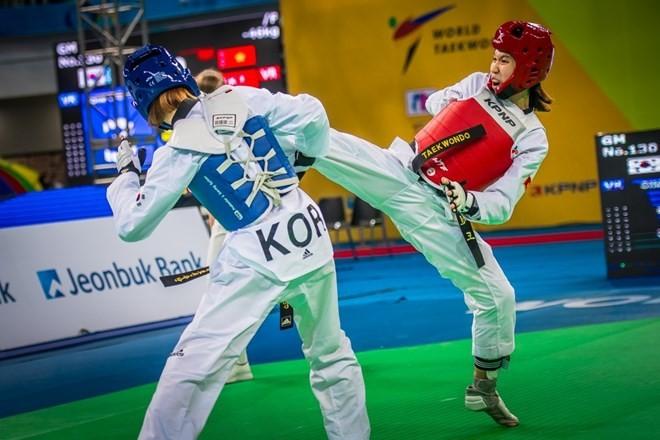 Taekwondo Việt Nam giành huy chương bạc tại giải vô địch thế giới - ảnh 1