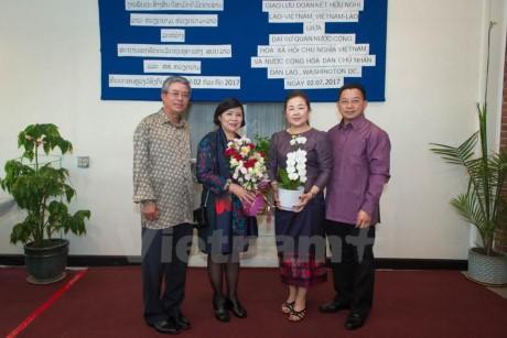 55 năm quan hệ Việt Nam-Lào: Giao lưu giữa hai Đại sứ quán Việt Nam và Lào tại Hoa Kỳ - ảnh 2