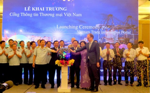 Khai trương Cổng Thông tin thương mại Việt Nam - ảnh 1