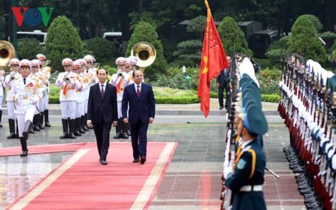Việt Nam – Ai Cập nhất trí thúc đẩy hợp tác cùng có lợi   - ảnh 1